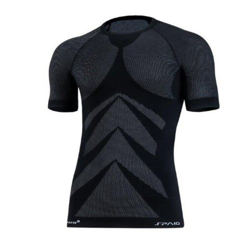 Weitere Sportarten Fitness Funktionsshirt Jogging Laufshirt sehr leicht 3D ELASTISCH  Thermoaktiv Bekleidung