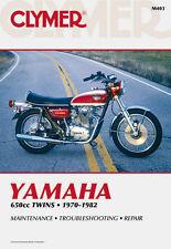 Clymer Repair Service Shop Manual Vintage Yamaha TX650 70-74 XS1 XS2 XS650 75-82
