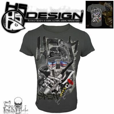 HOTSPOT DESIGN T-Shirt SKULL COLLECTION HOT SPOT