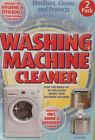 Washing Machine Cleaner Powder Removes Grime Dirt Sterilise & Protects 2 X 125g Sachet