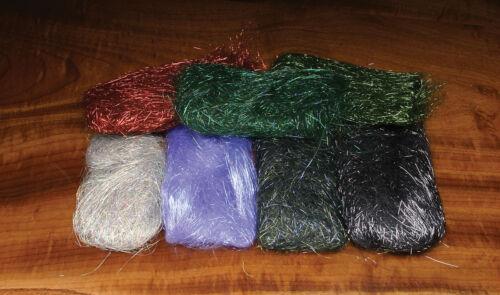 Fischchenfliegen Streamer /& Co. Ice Wing 28 Farben zur Auswahl Hareline U.S.A