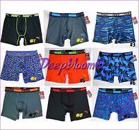 Puma Men Underwear Boxer Brief Stretch Sport 6 Inch Inseam Printed M L Xl
