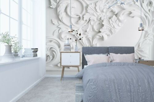 Details about  /3D Bedroom Stone Sculpture R496 Wallpaper Wall Mural Self-adhesive Commerce Amy