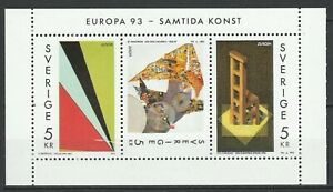 Sweden-1993-CEPT-Europa-MNH-Block