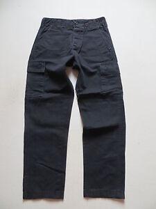 Levis-Cargo-Jeans-Hose-Cargohose-W-30-L-32-All-Duty-Denim-Schwarz-Gr-44