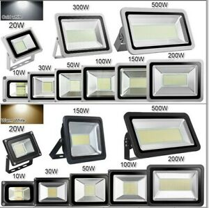 10W-500W-SMD-Floodlight-Projecteur-blanc-chaud-LED-Lampe-de-jardin-exterieure