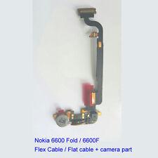 100% Genuine Original Nokia 6600 Fold 6600F Main Buzzer Flex Cable + Camera Part