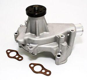 SBC-Long-Aluminum-Water-Pump-Natural-Finish-High-Volume-Small-Block-Chevy-350