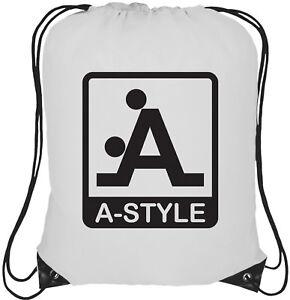 A-Style-Logo-13L-Cordon-Sac-Sac-a-Dos-Sac-a-Dos