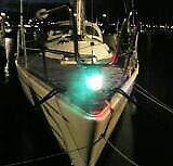 Nye Båd Lanterne LED pære 10-30V DC i rød eller...
