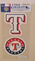 MLB TEXAS RANGERS 2 4X4 DECALS FAST FREE SHIPPING