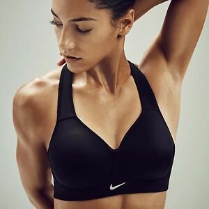 4ec8c718d3861 Nike Pro Rival Compression Womens High Support Sports Bra Tennis Gym ...