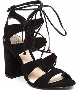 556f084b056a Image is loading Vince-Camuto-Winola-Lace-Up-Cutout-Sandal-Sizes-