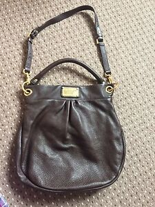 By dettagli in con Hobo Borsa oro Marc scuro Jacobs HillierMarrone Nm8Owvn0