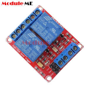 Details about 2-Channel 12V Relay Module Optocoupler High and Low Level  Trigger for Arduino UK