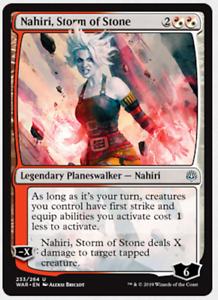Magic The Gathering Mtg War Of The Spark Nahiri Storm Of Stone 233 264 Ebay
