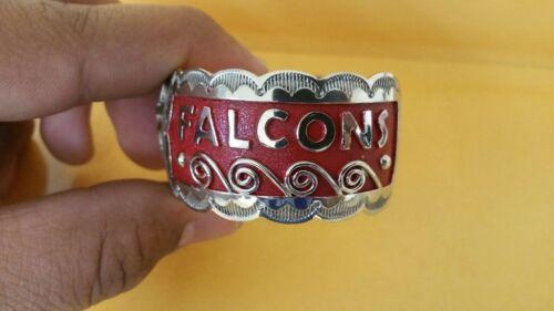 Native American Navajo Bracelet Womens Atlanta Falcons Cuff #1 Amazing Stunning!