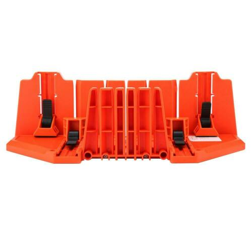 """Table Mitre Box Saw Cabinet Case 22.5//45//90° Woodworking Angle Cutting Tool 14/"""""""