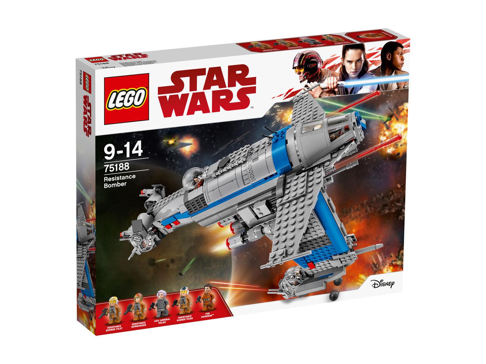 LEGO Star Wars (75188) Resistance Bomber, NEU / OVP