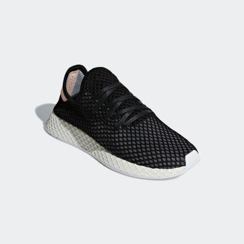 NIB Mens Adidas B41758 Originals Deerupt Runner Black//Ash Lifestyle Sneaker $110