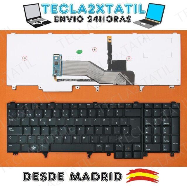 TECLADO PARA PORTATIL Dell Latitude E5520 EN ESPAÑOL NUEVO RETROILUMINADO