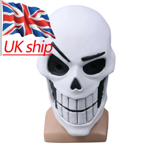 Cosplay Undertale Papyrus Mask Halloween Adult Latex Party Mask Handmade Prop