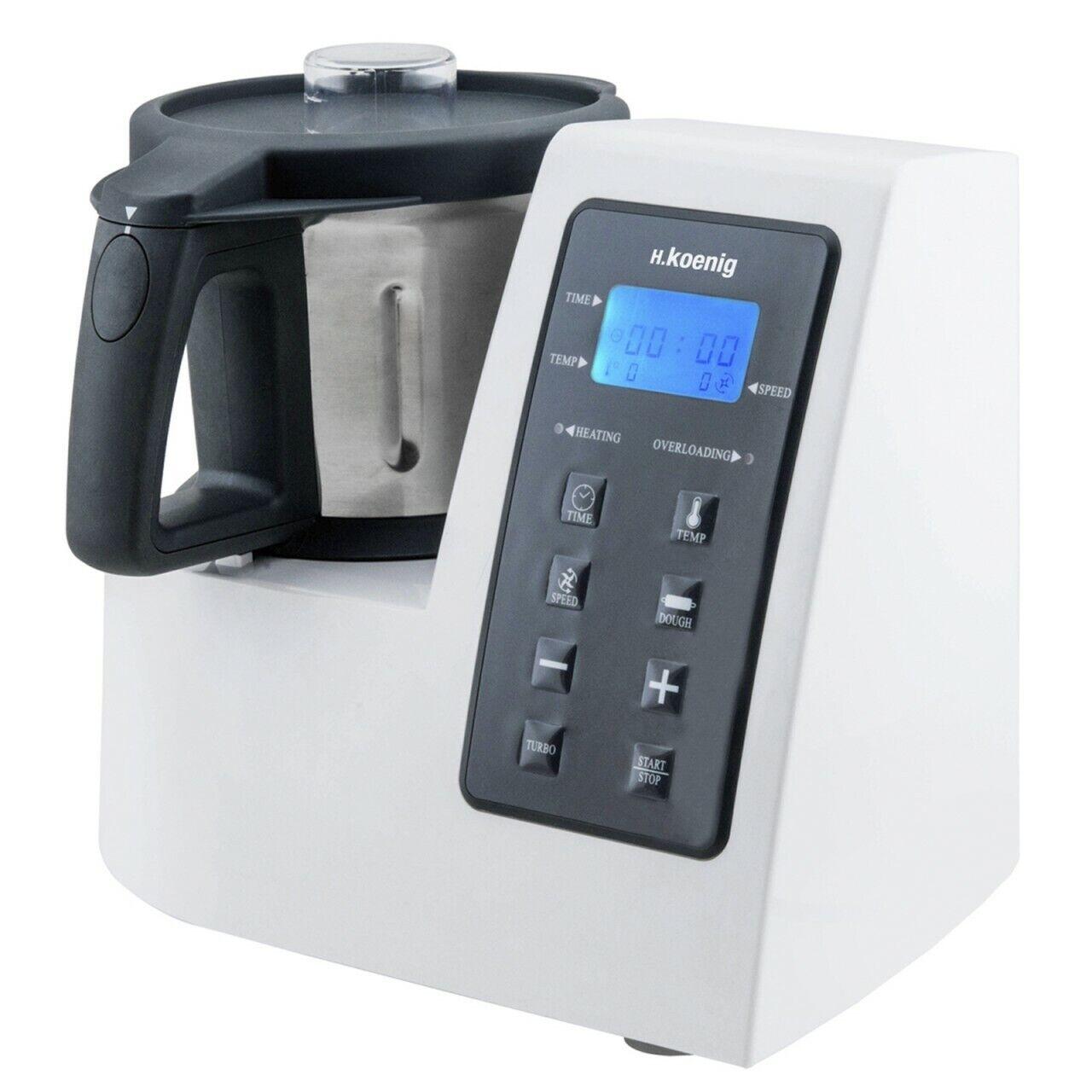 Professional Food Processor Thermo Multi Cooker 9 In1, 2 Liter, 1300watt