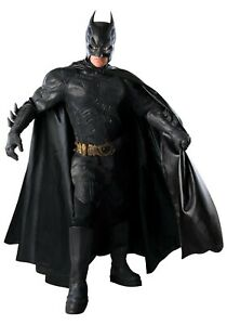 ADULT-AUTHENTIC-DARK-KNIGHT-BATMAN-COSTUME-SIZE-XL-Used