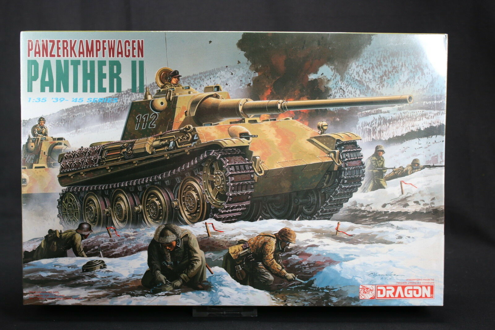 orden en línea YL072 DRAGON 1 35 maquette tank char 6027 6027 6027 Panzerkampfwagen Panther II WWII  saludable