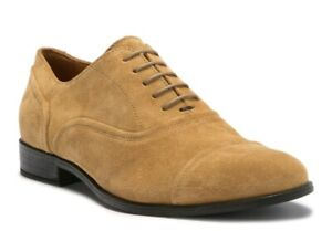 Details about Geox Bryceton 2 Cap Toe Oxford Tan Khaki Suede Men's US 9 EU 42 NEW $175!