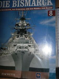 Bismarck//Ausgabe 10 //Hachette//Die Geschichte und  Modell Bauen