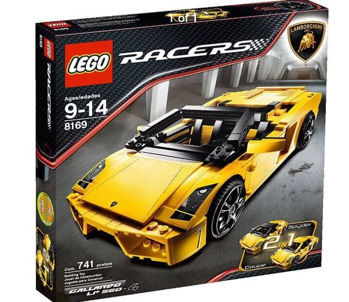 LEGO Racers Lamborghini Gallardo LP 560-4 Set (8169)