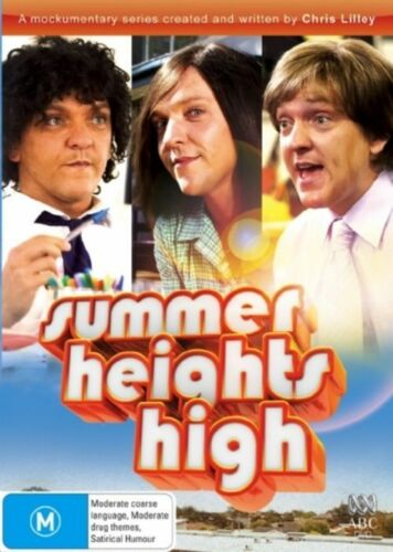 1 of 1 - Summer Heights High..CHRIS LILLEY..REG 4..NEW & SEALED   dvd373