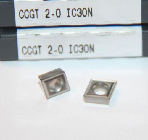 CCGT 2-0 IC30N ISCAR INSERT