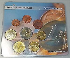 Internationale-Numismatik-Foire-Berlin-Novembre-2003-KMS-Messesatz-Produit-Neuf