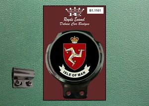 Royale Classic Car Badge & Bar Clip The ISLE of MAN B1.1161