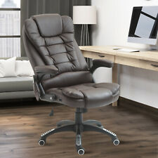 Heated Vibrating Massage Office Chair Swivel Executive Leather Chair BN