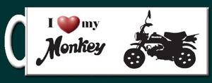I love my Monkey Bike Mug  Perfect Gift - Dorking, United Kingdom - I love my Monkey Bike Mug  Perfect Gift - Dorking, United Kingdom