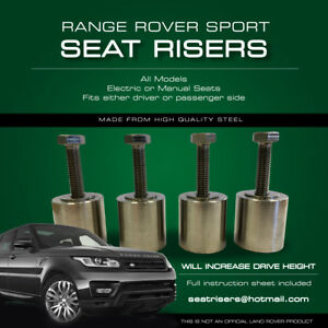 Miraculous Details About Range Rover Sport Seat Risers All Models Fits Driver Or Passenger Seat Gmtry Best Dining Table And Chair Ideas Images Gmtryco