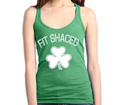 Patrick/'s Day Irish Shamrock Lucky AF Women/'s Racerback Tank Top St