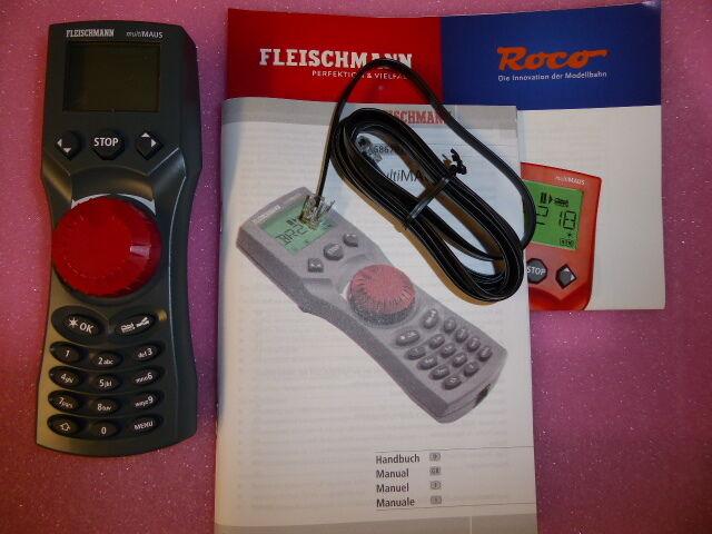 Fleischmann 686701 Multi Mouse + Cavo di collegamento Merce Nuova