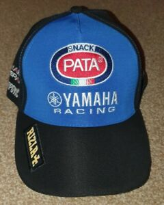 Casquette YAMAHA RACING WSBK Vélo MONDIAL SUPERBIKE PATA RIZLA Team New Blue /& Black