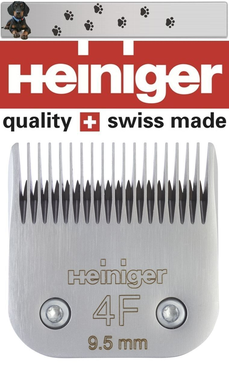 Heiniger Shaving Head Size 4F 9,5 mm Sapphire - shaphirstyle - Cord   Moser