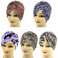 Yoga Turban Kappe Hut Mütze Kopftuch Kopfbedeckung Chemo Haarband Mehrfarbig