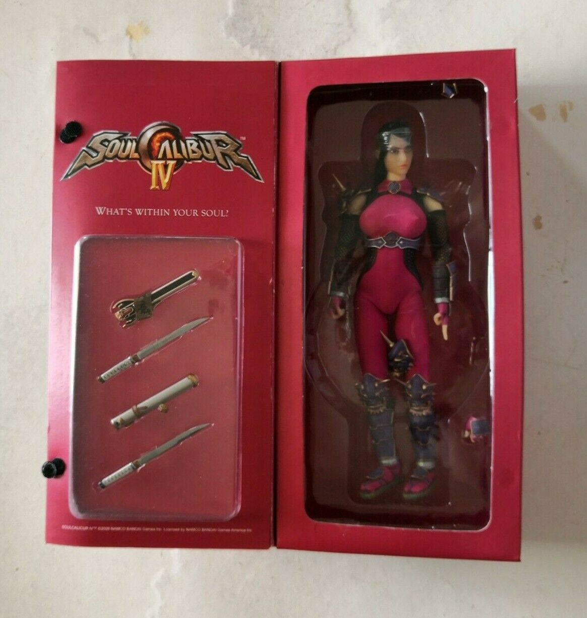 Namco's SOUL CALIBUR IV 12'' TAKI action figure with real cloth outfit TRIAD TOY