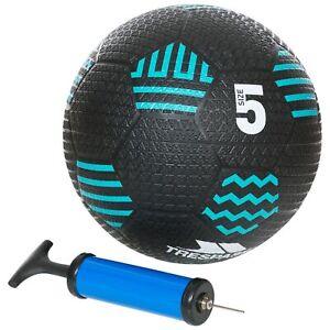Trespass-Kids-Outdoor-Indoor-Garden-Rubber-Inflatable-Soccer-Football-With-Pump