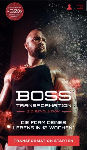 Bosstransformation 3.0 Revolution !
