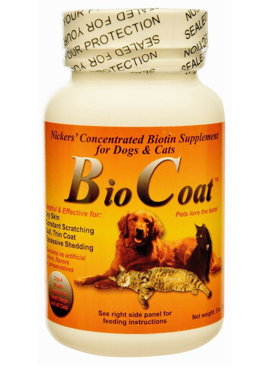 Bio Coat for Dogs & Cats - Highly concentrated - for all breeds of dogs & Cats