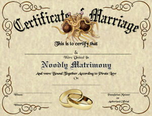 FSM-Marriage-Certificate-Pastafarian-Flying-Spaghetti-Monster-Wedding-Strange