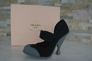 Neuf De Prada Luxe 5 Taille Hauts Escarpins Talons 37 Chaussures Autrefois Noir FvgwOFxq